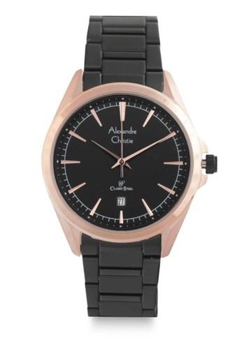 Alexandre Christie black Alexandre Christie Jam Tangan Wanita - Black rosegold - Stainless Steel - 8580 LDBBRBA 82D59ACF1AE3A1GS_1