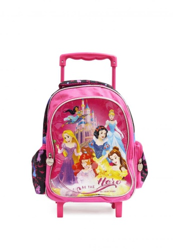 Disney pink Disney Princess Trolley Backpack 46C71KC54F622BGS_1