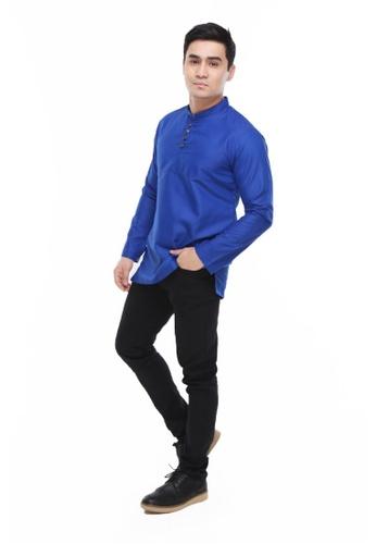 Amar Amran blue Kurta Rayqal F1C06AA4A0A487GS_1