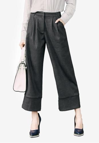 Kodz grey Tailored Culottes 3C25EAAD4014C9GS_1