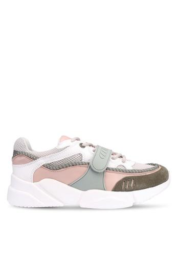 32e53dd2 Shop Mango Contrast Applique Sneakers Online on ZALORA Philippines