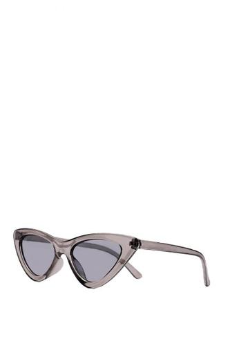 Kallisto grey Denise Cateye Sunglasses 3F30AGLE0A3291GS_1