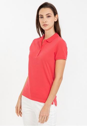 Bossini red Short Sleeve Solid Polo Shirt 17824AAD4D4CAFGS_1