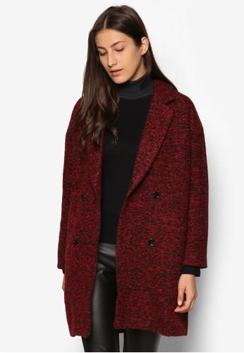 Collection 雙口袋仿羊毛大衣, 服飾, 夾克 &ampesprit outlet 台灣; 大衣