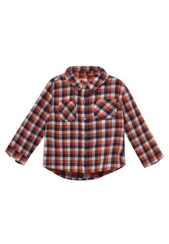 Du Pareil Au Même (DPAM) multi Checkered Shirt CC117KA842C6AFGS_1