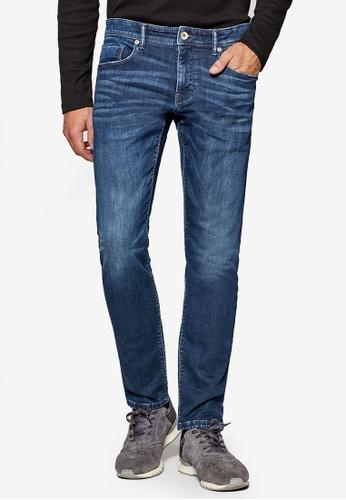 ESPRIT 藍色 Denim Length Service Pants E1D2FAA5C24CD4GS_1