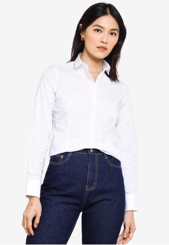 Sacoor Brothers multi Long sleeve Women's classic shirt 53779AA8F475E8GS_1
