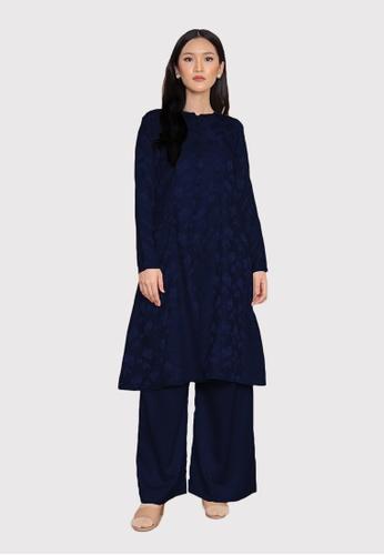LosraVelda blue Naina Top and Pants 4B613AA590F706GS_1