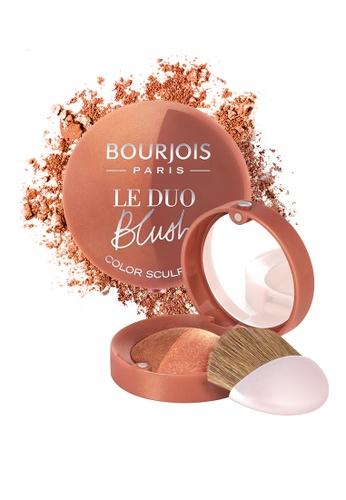 Bourjois brown Bourjois Duo Sculpting Blusher #03 Carameli melo (Brown) F35B8BEAD893CEGS_1
