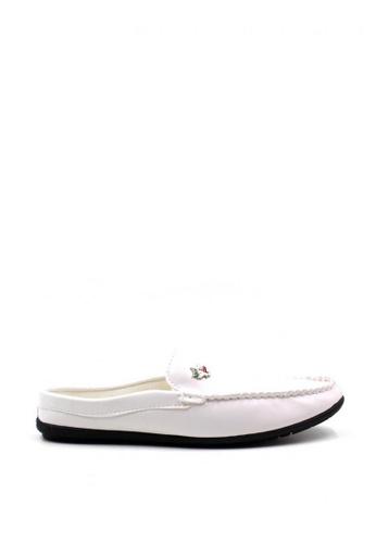 London Fashion white Basti D01 Formal Shoes   LO229SH60ZJJPH_1