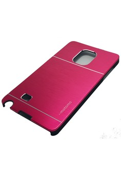 Ultra Sleek Metal Case for Samsung Galaxy Note Edge (Red)