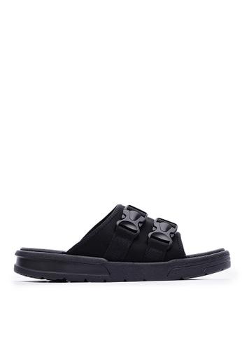 Life8 black Sport Lightweight Sandal-09866-Black 1FFCESH1B9143CGS_1
