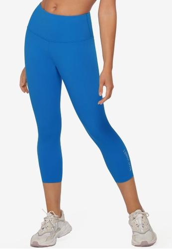 Lorna Jane blue Lotus 7/8 Leggings 95636AAB6DC102GS_1