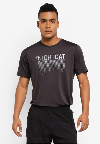 Puma black Nightcat Shorts Sleeve Tee PU549AA0SWGWMY_1