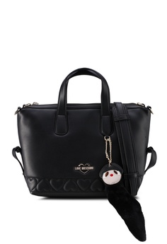 b0e5d669a Love Moschino black Top-Handle Bag 40C79AC15F01DFGS_1