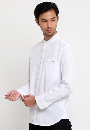 Tripl3 Jeans white Kemeja Koko Lengan Panjang 9A799AAE135CADGS_1