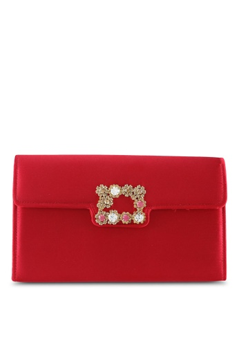 Papillon Clutch red Marigold Clutch PA491AC0RT88MY_1
