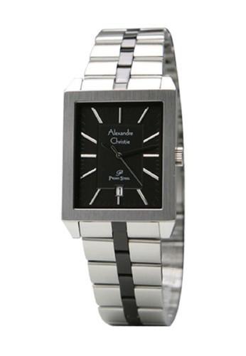 Alexandre Christie silver Alexandre Christie 1020 Jam Tangan Wanita Stainless Steel Silver Hitam E35B2AC741B9C7GS_1