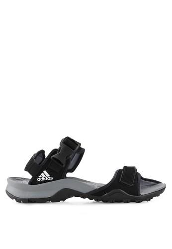 adidas black adidas cyprex ultra sandal ii AD349SH34NNTID_1