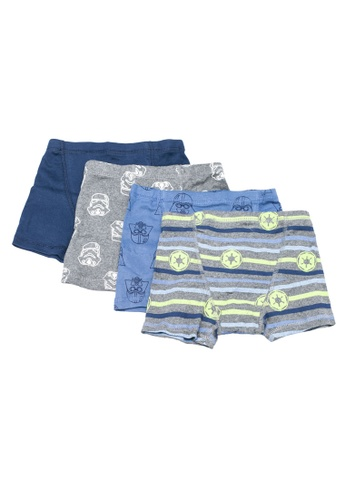 New Gap Kids Boys 4 Pack Boxer Briefs Underwear M 8 L 10 XL 12 NWT Shark Tropic