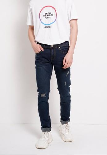Hi Style blue Long Jean Skinny Fit 69F9DAAC52EE63GS_1