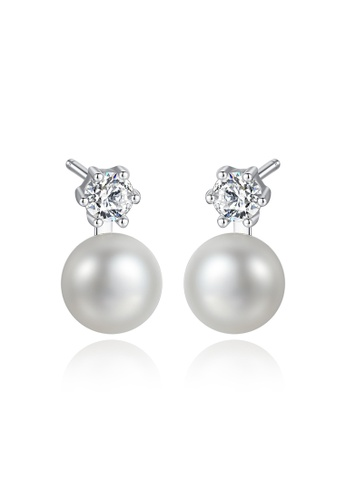 A.Excellence white Premium White Pearl Elegant Earring 55CCFACFA1E1FBGS_1