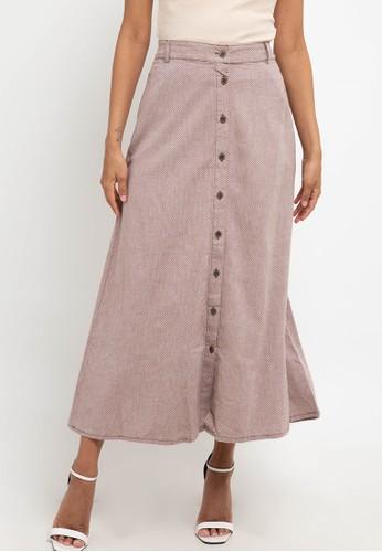 Expand brown Derina Skirts 5DD5BAA5212D87GS_1