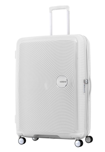 American Tourister white American Tourister Curio Spinner 80/30 Exp TSA AM536AC69ZXYSG_1