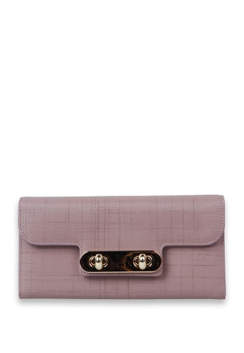 PIERRE CARDIN pink Pierre Cardin Jasmeet Long  Wallet - Pink PI436AC23NOUID_1