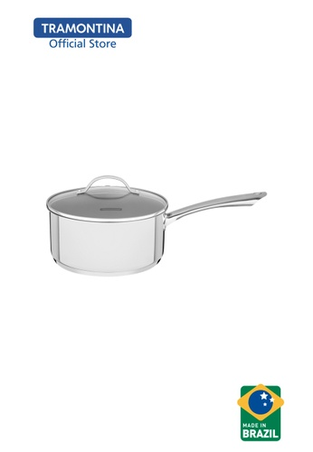 Tramontina silver Tramontina Sauce Pan 16cm Stainless Steel Triple-ply bottom Una 75693HLE71A01AGS_1