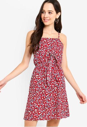 17262245779 Buy Something Borrowed Front Tie Cami Dress Online on ZALORA Singapore