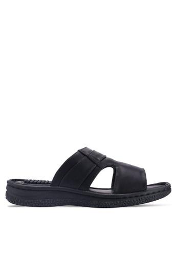 Bata black Slip On Sandals 363DESH344B722GS_1