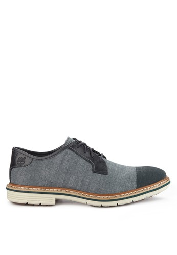 Timberland blue and multi Naples Trail Dyed Trail Oxford F2639SHD52A8E3GS_1