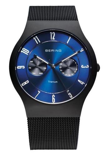 Bering blue Classic 11939-078 Blue 39 mm Men's Watch 78C8DACF5A627BGS_1