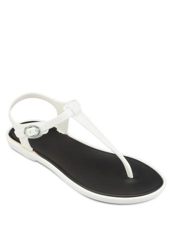Tiriga 撞色esprit 品質鞋墊夾趾涼鞋, 女鞋, 涼鞋