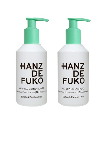 Hanz de Fuko Hanz de Fuko Natural Shampoo and Conditioner Set HA369BE52MWTSG_1