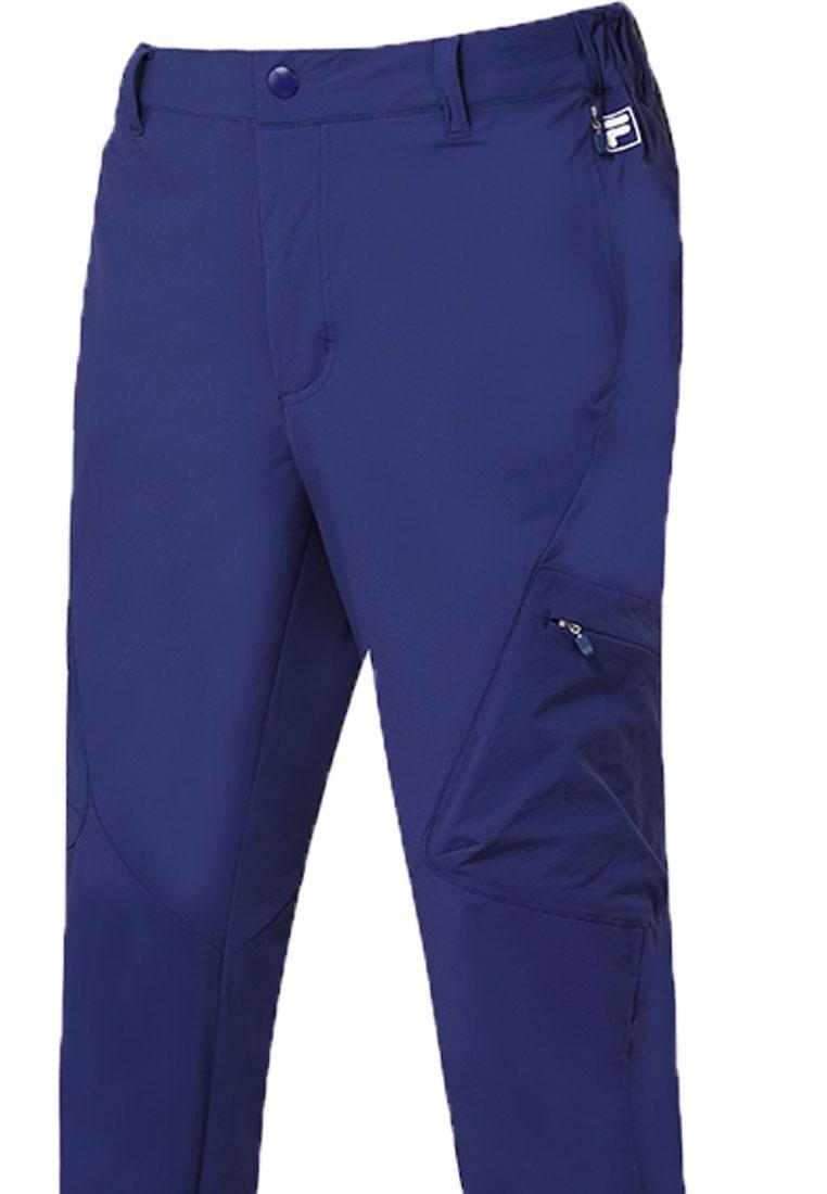 Training Blue Pants Line FILA Woven Stretch RED Txfq7w