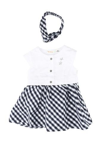 Babybol white Baby's Dress And Headband DA612KA8286672GS_1