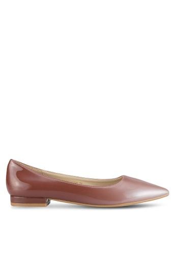 ZALORA pink Ombre Ballet Flats 2F578SHC798929GS_1