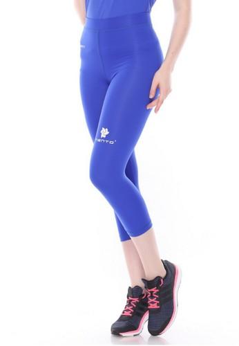 Jual Tiento Tiento Women Compression 3 4 Pants Blue Celana Legging Leging Lejing Sebetis Wanita Olahraga Yoga Zumba Senam Lari Running Voli Original Zalora Indonesia
