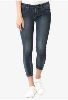30428555 Lee blue Women's 101+ Amy Denim Jeans Slim Narrow (Poppy Fresh)  CD6D8AA9594304GS_1