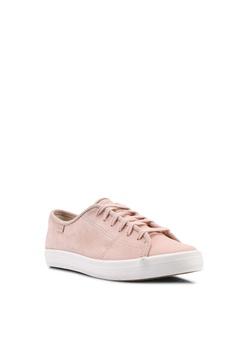 7f1cbc690310 Keds pink Kickstart Nubuck Sneakers 7D99DSH582C3E0GS 1