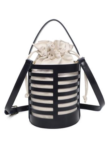 Milliot & Co. black Zenobia Top Handle Bag 1C1E1AC1B7C94CGS_1
