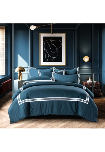 Canopy white Canopy Luxe Earl 100% USA Cotton 980tc Full Bed Set 3A6D2HL01DC41AGS_1