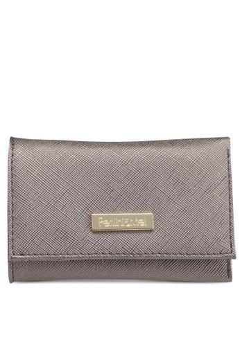 Perllini&Mel silver Faux Leather Key Pouch B57CBAC84C028BGS_1