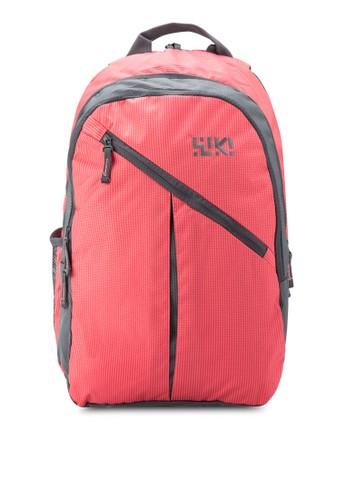 Stoppie 撞色內襯後背包,zalora 包包 ptt 包, 旅行背包