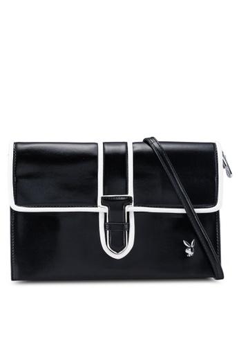 Playboy black Playboy Clutch Bag 7A4C7ACEAE070EGS_1