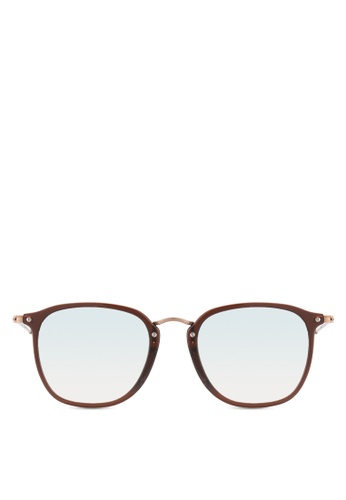 Ray-Ban brown RB2448NF Sunglasses RA896GL70HHXMY_1