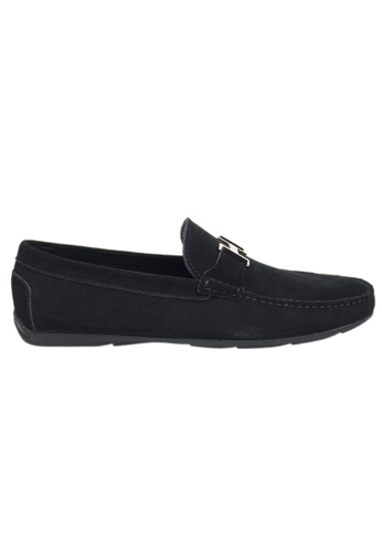 Tomaz black Tomaz C031 Buckled Loafers (Black) 6D074SH5CFF897GS_1