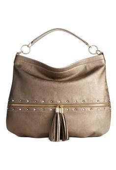 INC International Concepts Pewter Jackay Hobo Bag